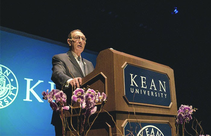 Farahi announces 2020 will be his last year as Kean University president