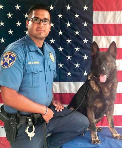 Sheriff's Office K-9 to get donation of body armor