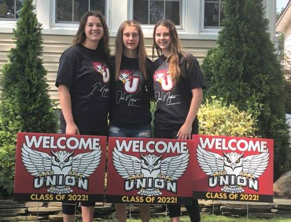 The trifecta: Cieslinski triplets to attend Union County College