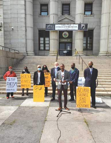 Community voices support for Holley bill to create Division on Violence Prevention