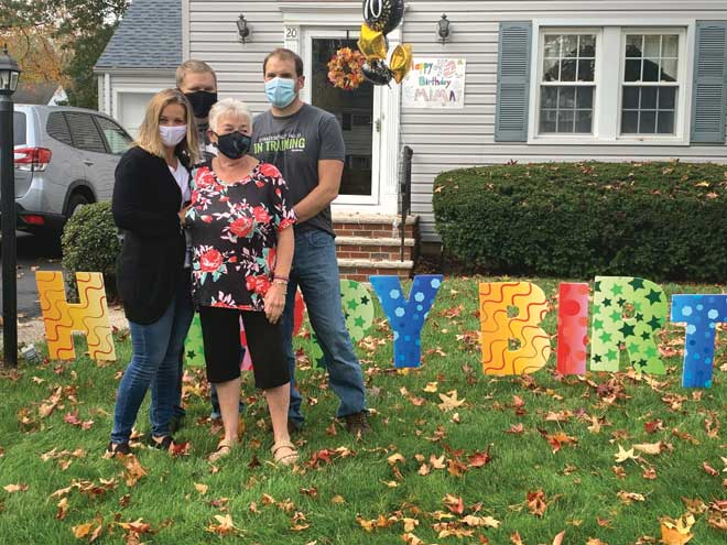 Family throws drive-by birthday for matriarch