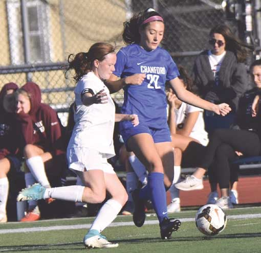 Cranford Athlete of the Month: Morgan Heim, girls soccer
