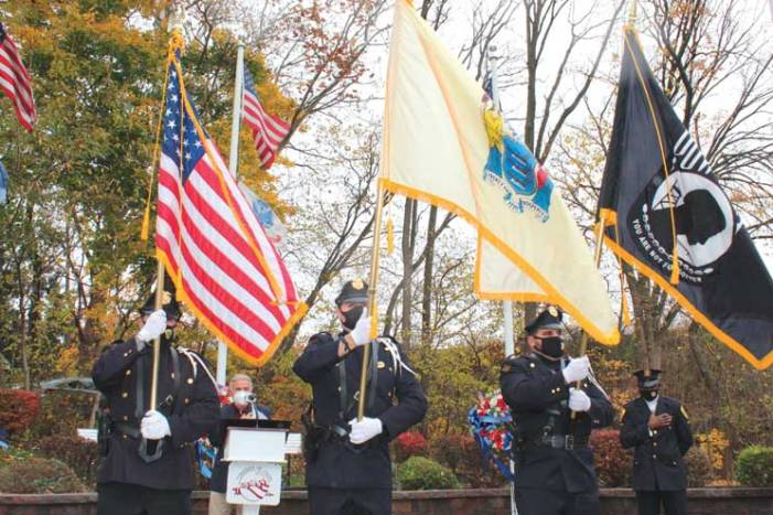 Union salutes veterans in ceremony