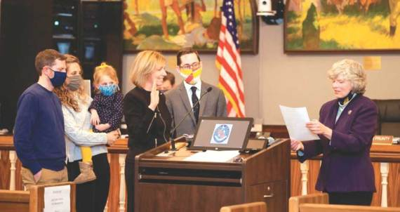 Cranford Township Committee begins new year