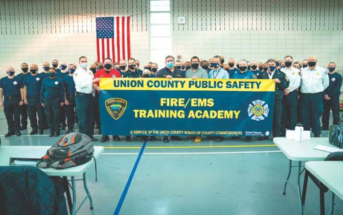 New Union County Fire/EMS Training Academy is open