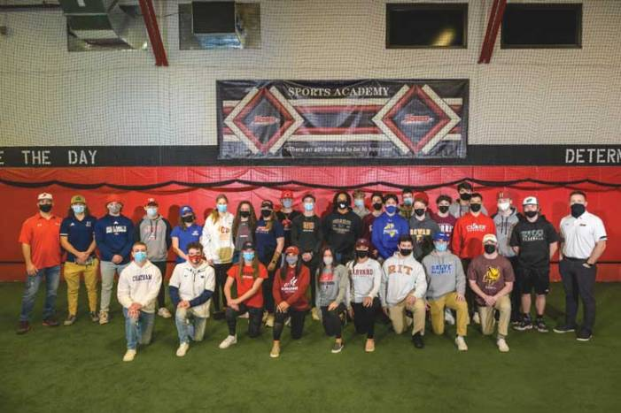 More than 30 local athletes are recognized at Signing Day event