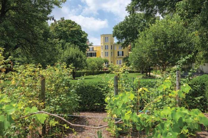 New Jersey's newest arboretum at Liberty Hall Museum in Union