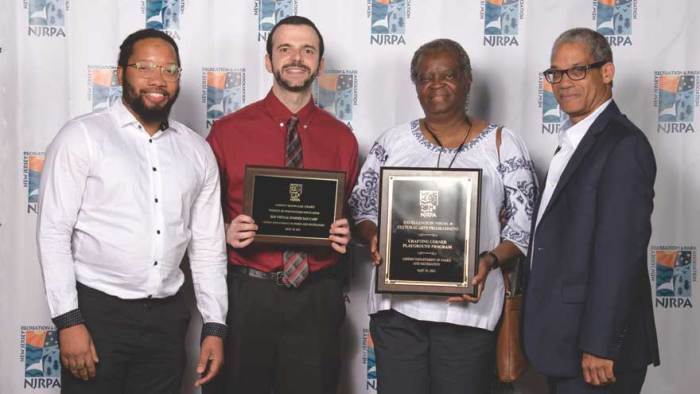 Linden Department of Parks and Recreation receives NJRPA Agency Showcase Award