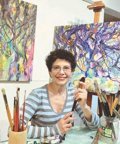 Reeves-Reed Arboretum presents Pamela Casper's 'Earthscapes: Emerging to a brighter tomorrow'
