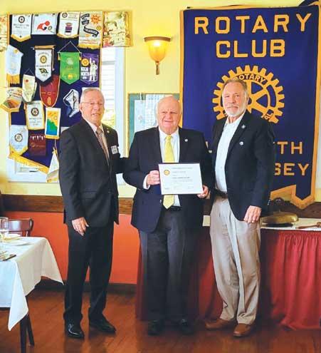 Elizabeth Rotary names Trinitas' Gary Horan a Paul Harris Fellow