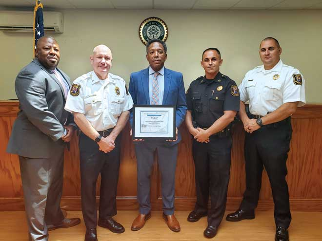 Linden Police Department fulfills One Mind Campaign pledge