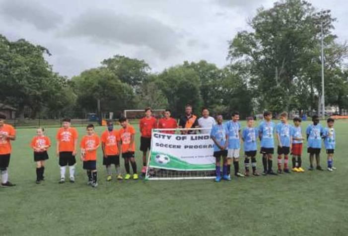 Linden Parks and Rec presents spring soccer awards