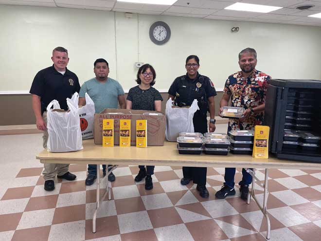 Soup Kitchen 411 partners with state PBA, local police depts. to serve free meals