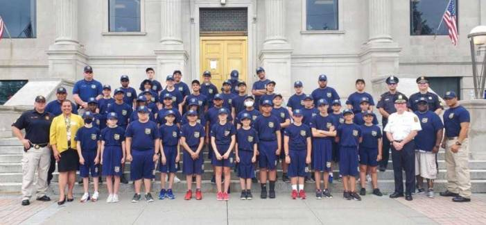 Record number of cadets graduate from Linden Police Department Youth Academy