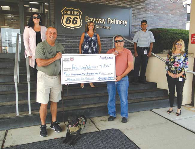Rebuilding Warriors receives $4,250 from Linden company's Good Neighbor Fund golf outings