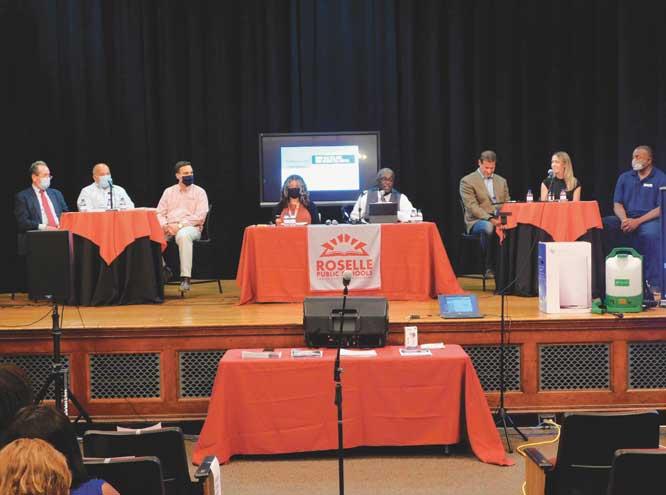 Roselle Public Schools hosts parent forum on safe reopening procedures
