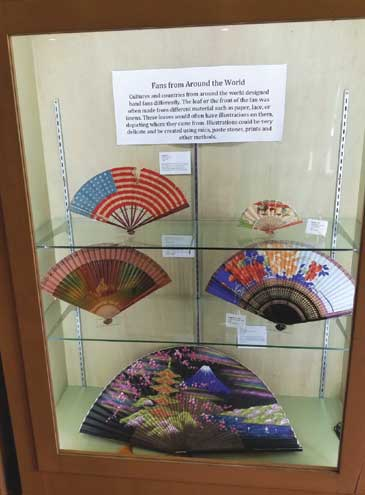 Springfield Library's Palmer Museum presents new exhibit, 'Fan-tastic: A Collection of Hand Fans From Around the World'