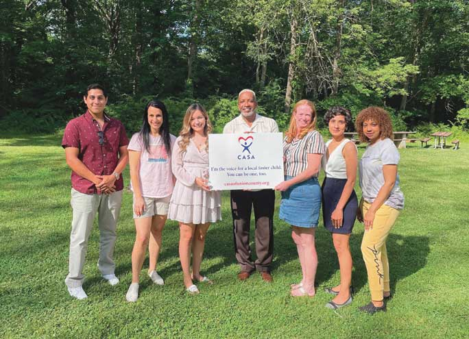 Class of seven trains, takes oath as CASA volunteers for foster youth