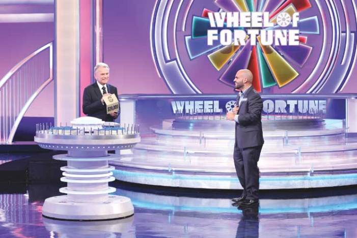 Cranford resident competes for prize money on 'Wheel of Fortune'