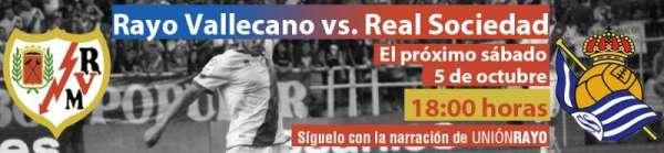 Cabecera Rayo Vallecano - Real Sociedad
