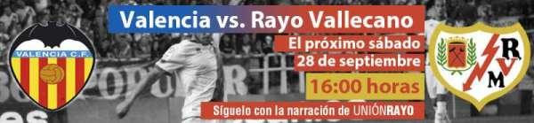 Cabecera Valencia - Rayo Vallecano