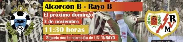 Alcorcon B-Rayo B
