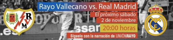 Rayo-Real madrid