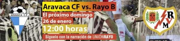 Aravaca CF - Rayo Vallecano B