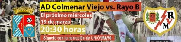 AD Colmenar Viejo - Rayo Vallecano B(1)