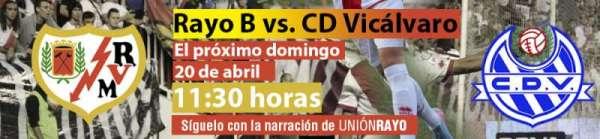 Rayo B - CD Vicálvaro