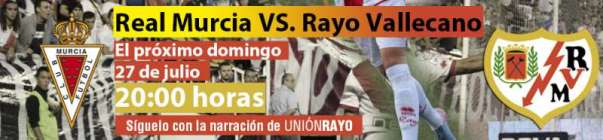 Real Murcia - Rayo Vallecano
