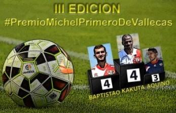 Cartel Premio Michel Primero deVallecas JR6