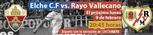 Elche - Rayo Vallecano
