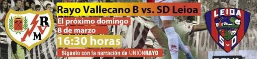 Rayo Vallecano B - SD Leioa