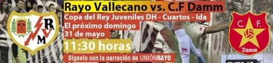 Rayo Vallecano - CF Damm DH