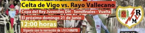 Celta de Vigo - Rayo Vallecano DH