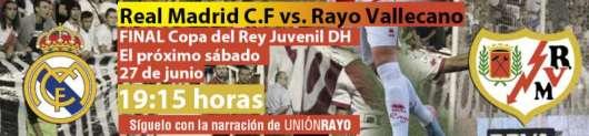 Real madrid - Rayo Vallecano DH final