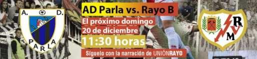 AD Parla - Rayo Vallecano B