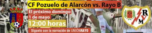 CF Pozuelo de Alaarcón - Rayo Vallecano B