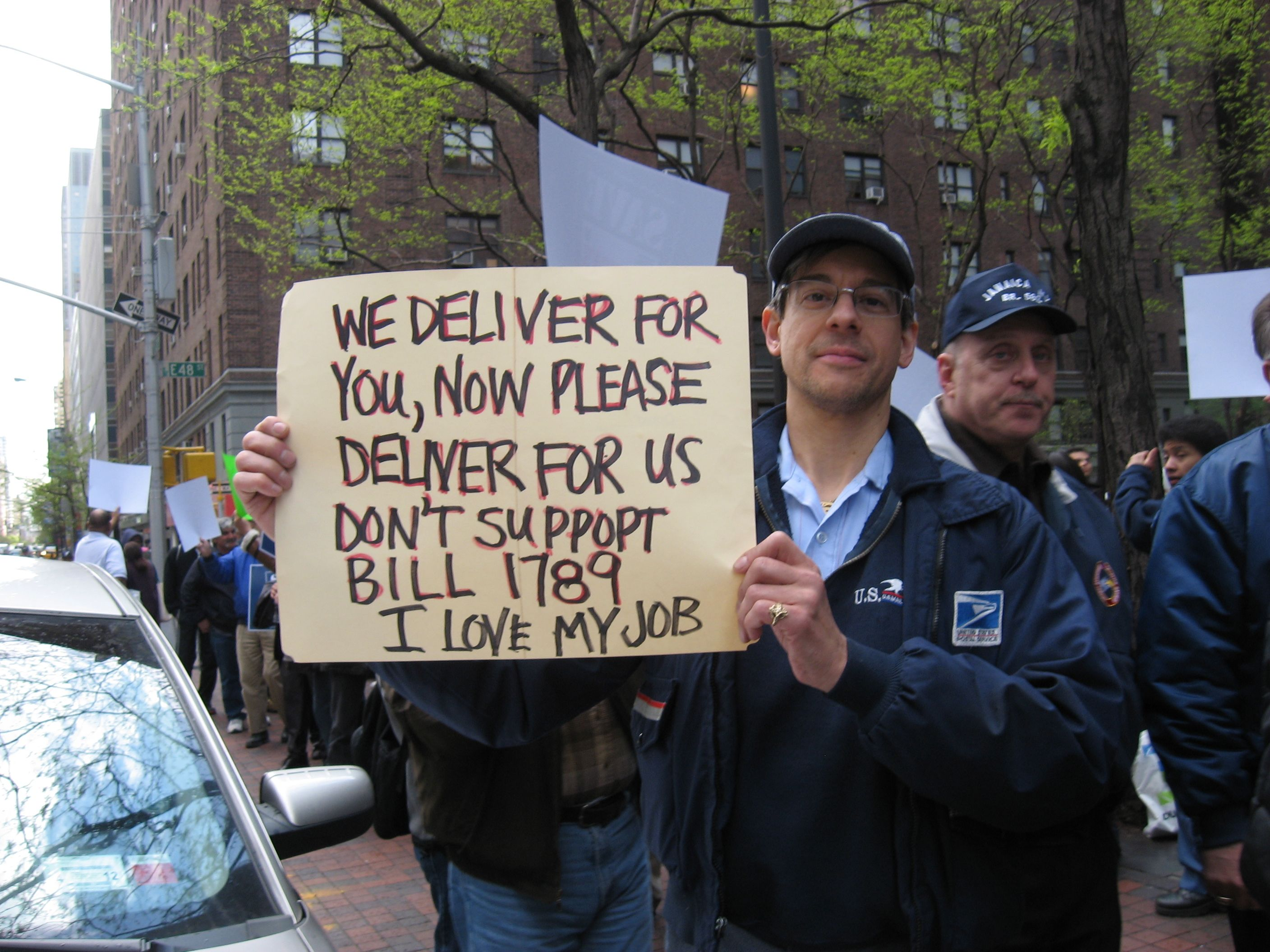 Nationwide Rallies To Save The Postal Service