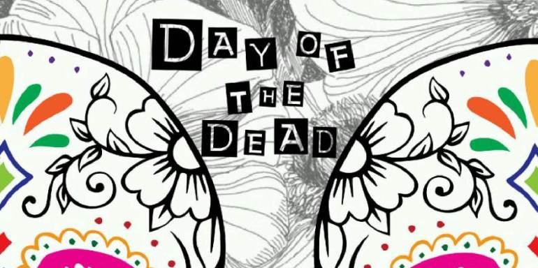 Day of the dead poster rectangle