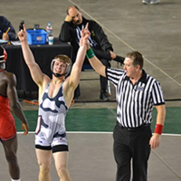 Alex Berfanger, State Champion