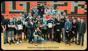 2014 Southwest District Champions
