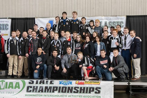 Union High School, 3rd Place, 2014 State Championships