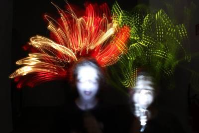 Maľba svetlom podnietila detskú fantáziu a obrazotvornosť (Foto: Tomáš Telepák)