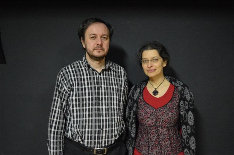 Peter Karpinský a moderátorka besedy Soňa Pariláková (Foto: Iva Tomečková)