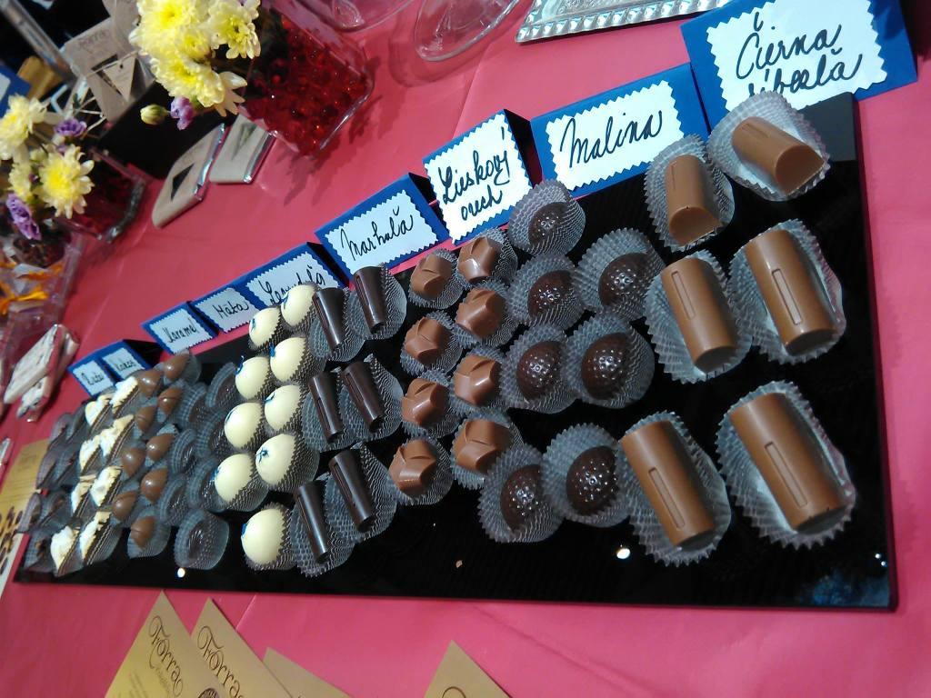 Pokrm pre bohov a slasť pre oči, presne také sú pralinky spoločnosti Forra čokoláda (Foto: archív Zuzky Forraiovej)