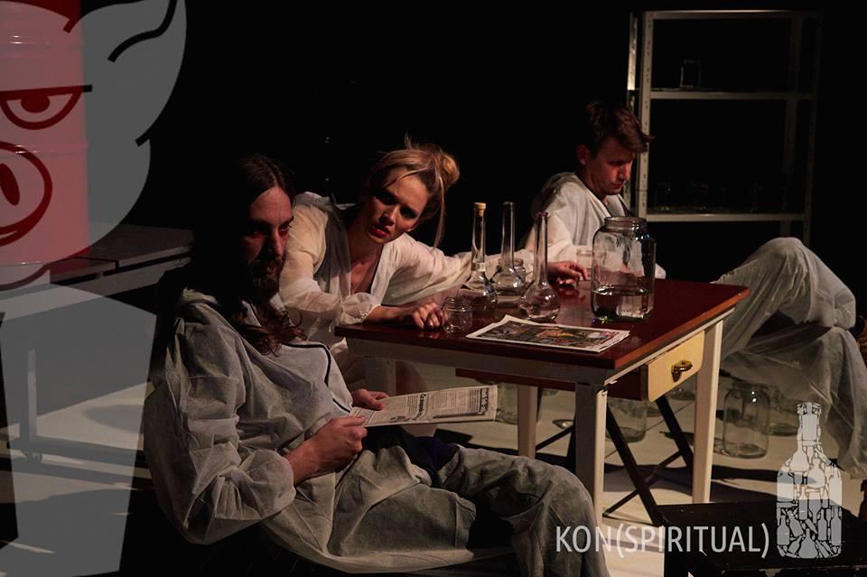 Snímka z predstavenia (KON)SPIRITUAL (Foto: FB Wave)