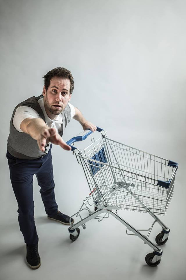 Komédia Pavla Seriša z prostredia supermarketov – Pri kase (Foto: FB Wave)