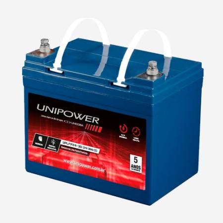 Bateria de Lítio 24V 30Ah UPLFP24-30